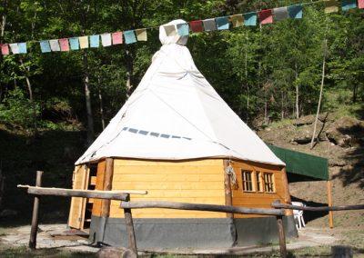 Campeggio du Parc Tenda indiana